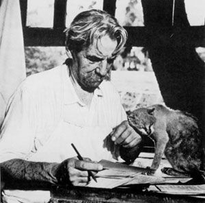 Albert Scheiwtzer et les chats