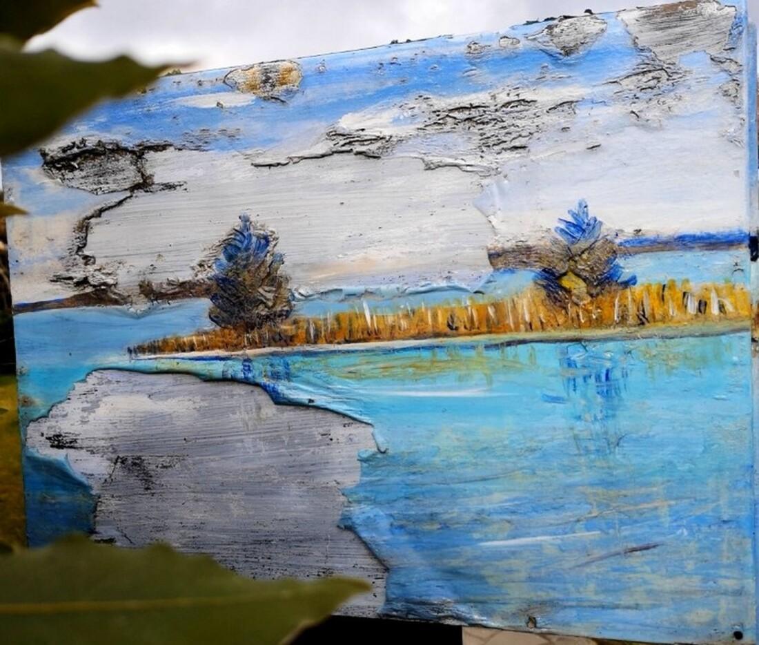 Lac de Lacanau au printemps