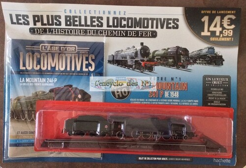 N° 1 L'age d'or des locomotives - Test