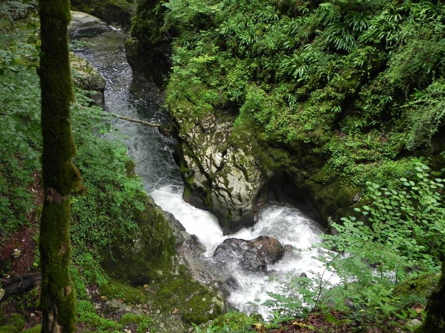 La cascade des Gorges de Langouette
