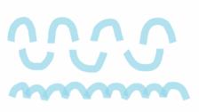 Lignes, ponts et ronds