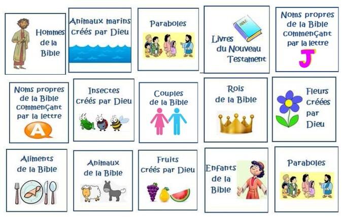 jeux de carte liste Jeu : Liste ta Bible !   Choisis la Vie