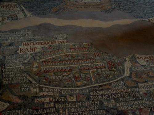 Jordanie : Madaba , la ville des mosaïques