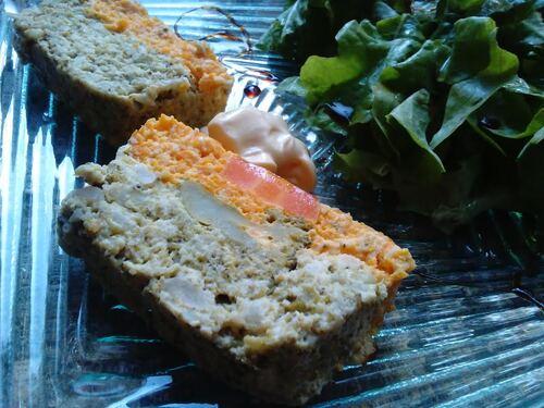 Terrine aux 2 (3) légumes