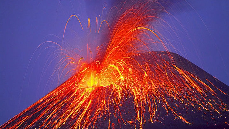 Islande Pays Le Plus Actif Volcan Au Monde