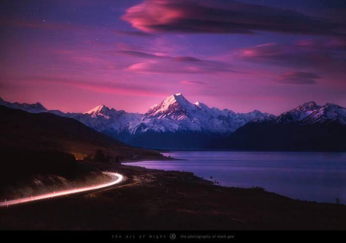 Géographie De La Nouvelle-Zélande  L'Image Magique & Fascinante