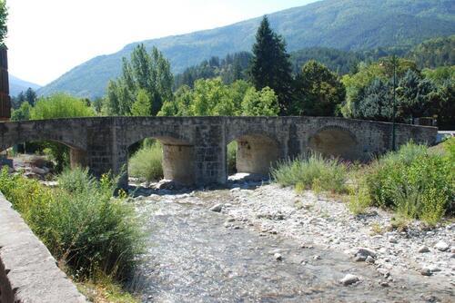 Le Pont à becs à Annot