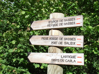 LES LACS DE L'ARIEGE  L'ETANG D'ALATE