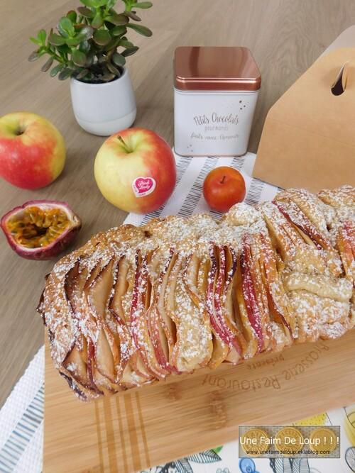 Cake aux pommes Pink Lady