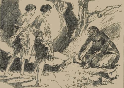 Le Félin géant de J.H. Rosny aîné - Roman des âges farouches