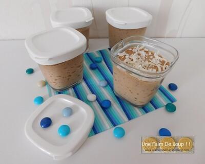 Pot de crème chocolat - coco (Seb Multi Délices)