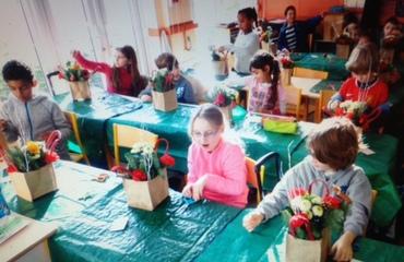 Des ateliers créatifs à l'approche de Noël