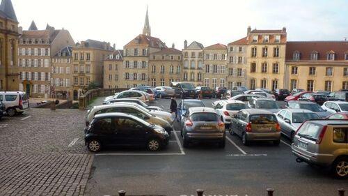 Parkings sacrifiés, Metz vitrifiée