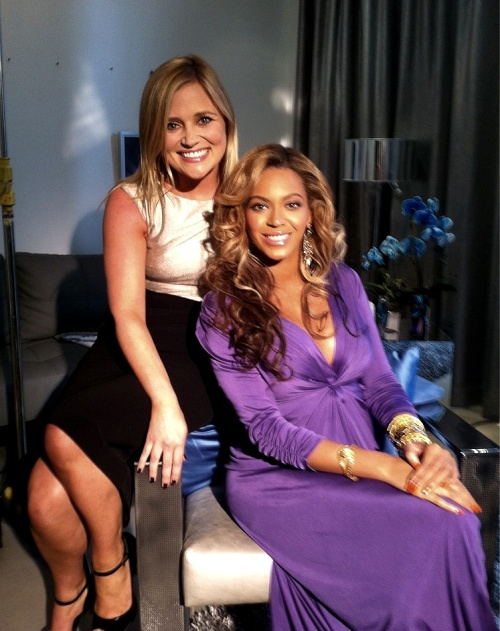 Photo : Beyonce interview avec Karen Koster