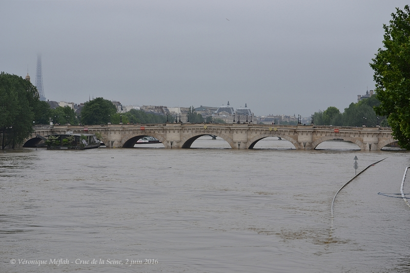 Crue de la Seine, 2 juin 2016