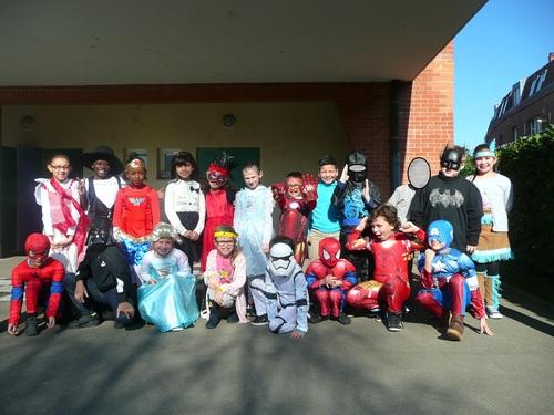 Le carnaval des super-héros !!!