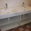 Pose meuble double vasque salle de bain (6)