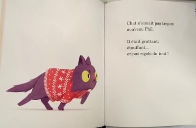 Chat tricote!