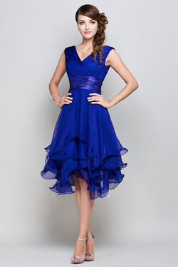 Femme robe pour mariage bleu royal courte