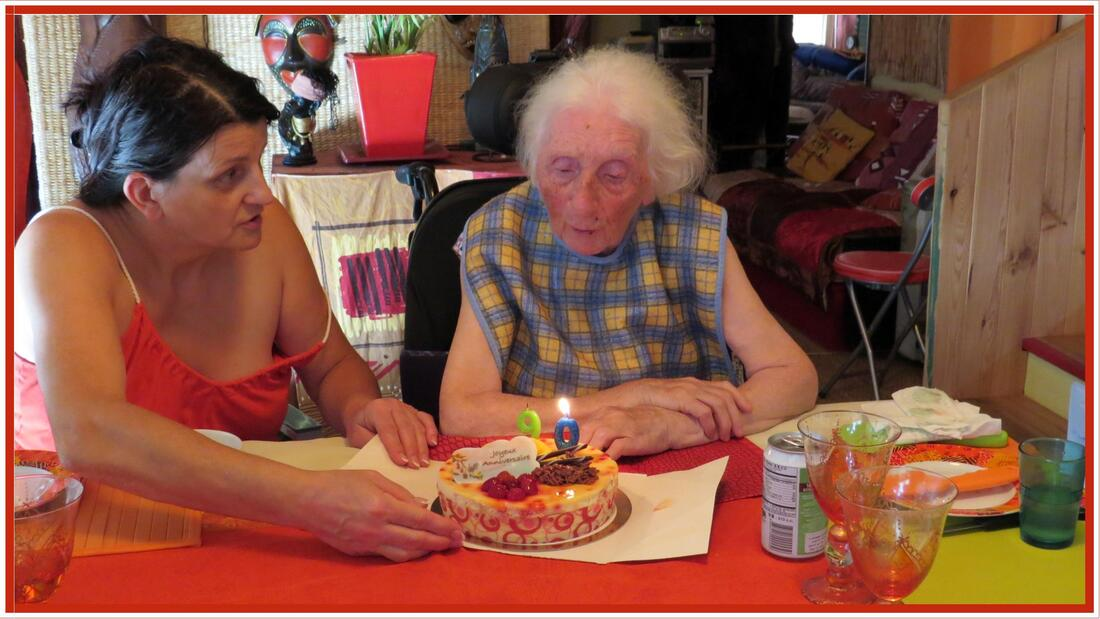 Les 90 ans de maman