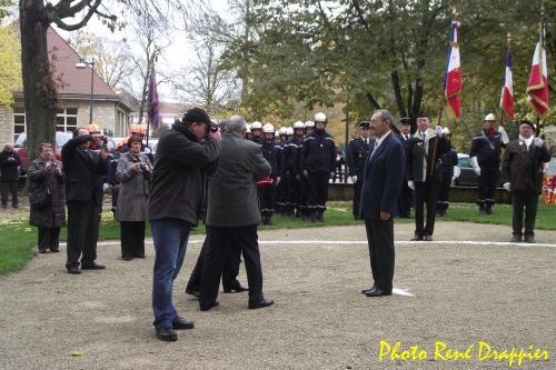 Le 11 novembre 2012 à Châtillon sur Seine