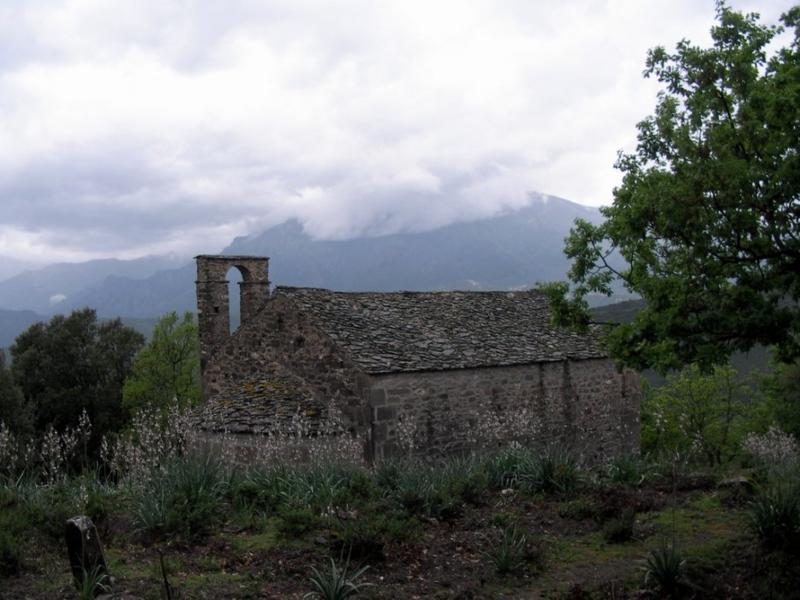 Photo du Monument Historique Eglise Saint-Martin situé à Erbajolo