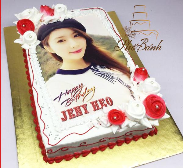 bánh sinh nhật in hình gái đẹp