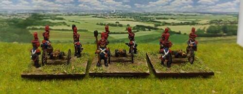10mm 1°Empire : Cavalerie et Artillerie