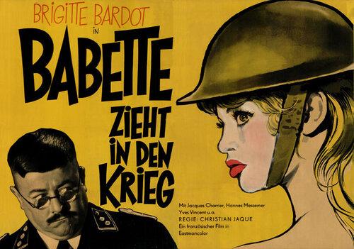 BABETTE S'EN VA-T-EN GUERRE - BOX OFFICE BRIGITTE BARDOT 1959