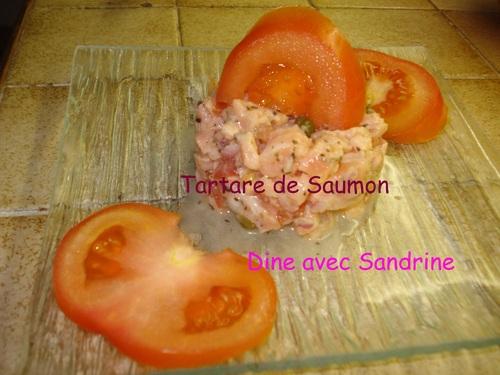 Un Tartare de Saumon