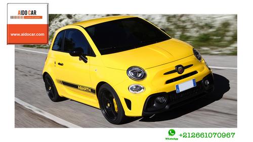 Location de voiture citadine à Casablanca – La nouvelle Fiat 500, la référence du design italien !