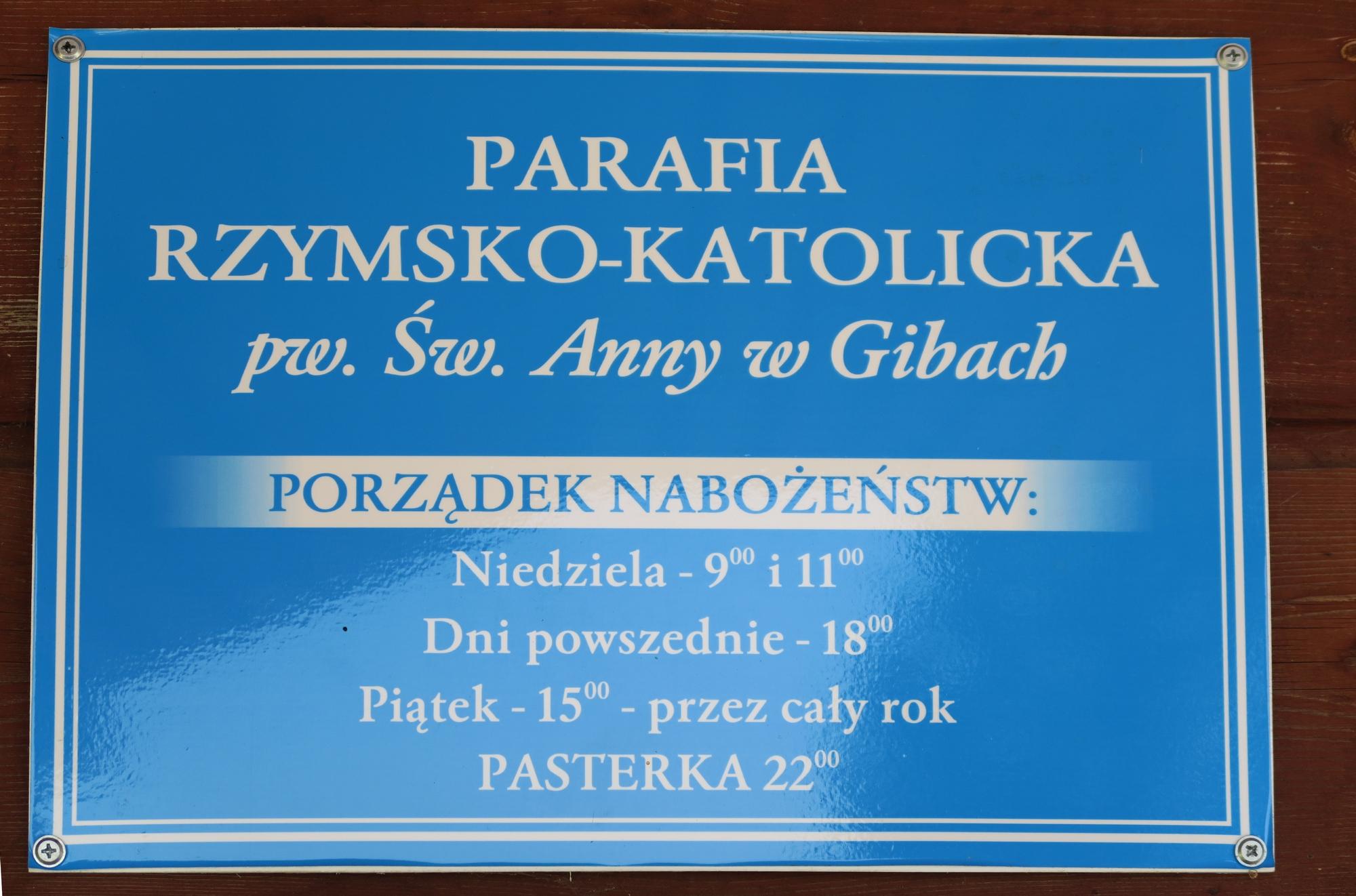 L'église en bois de GIBY (Pologne)