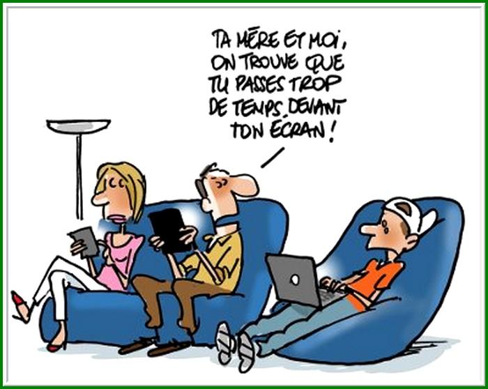 L'addiction internet ........