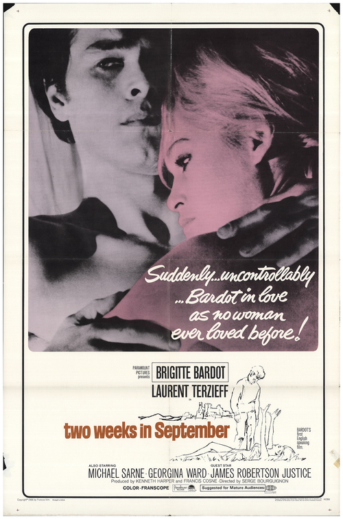 two weeks in september BOX OFFICE USA 1967