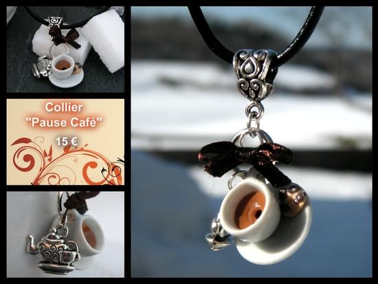 collier pause café