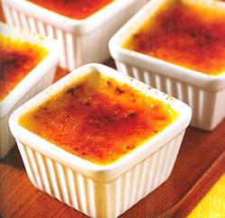 Crème brûlée au caramel beurre salé