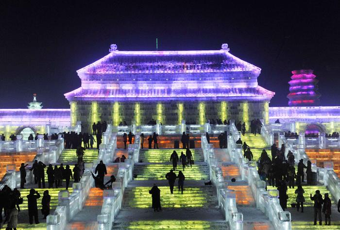 Harbin cité de glace