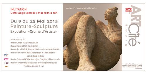 """Mireille Belle, invitée d'honneur de l'Exposition """" Graine d'Artiste """""""