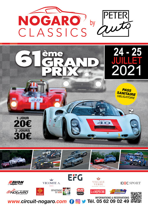 24-25 juillet 2021 : GP Nogaro classics