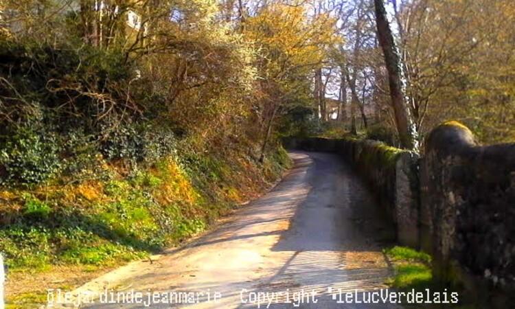 le pas de La Mule a Verdelais(Gironde)