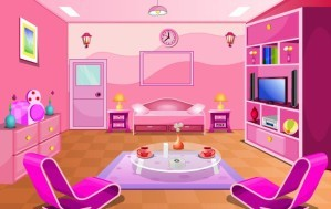 Royal pink room escape