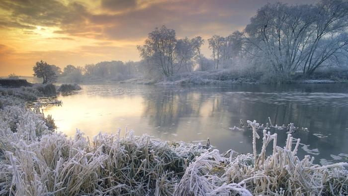 Fonds d'écran d'hiver pour création en HD