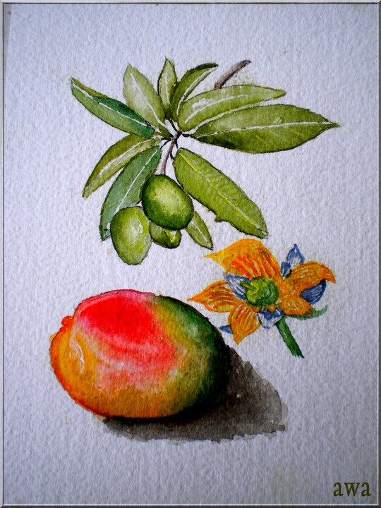SUITE  :  AQUARELLES 2010