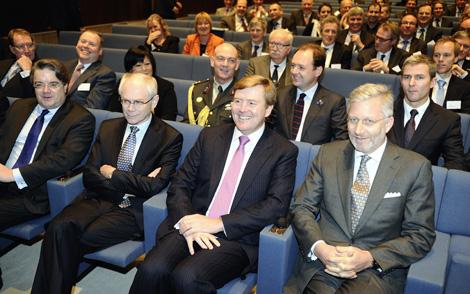 Willem Alexander et Philippe