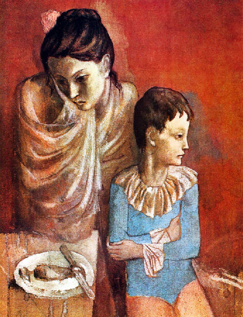 Picasso 20 / 1905 : l'humeur toujours morose !