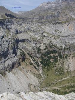 Le canyon d'Arrablo et la Fuen Blanca