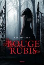 Rouge Rubis/Bleu Saphir de Kerstin Gier vs Rouge Rubis/Bleu Saphir de Felix Fuchssteiner