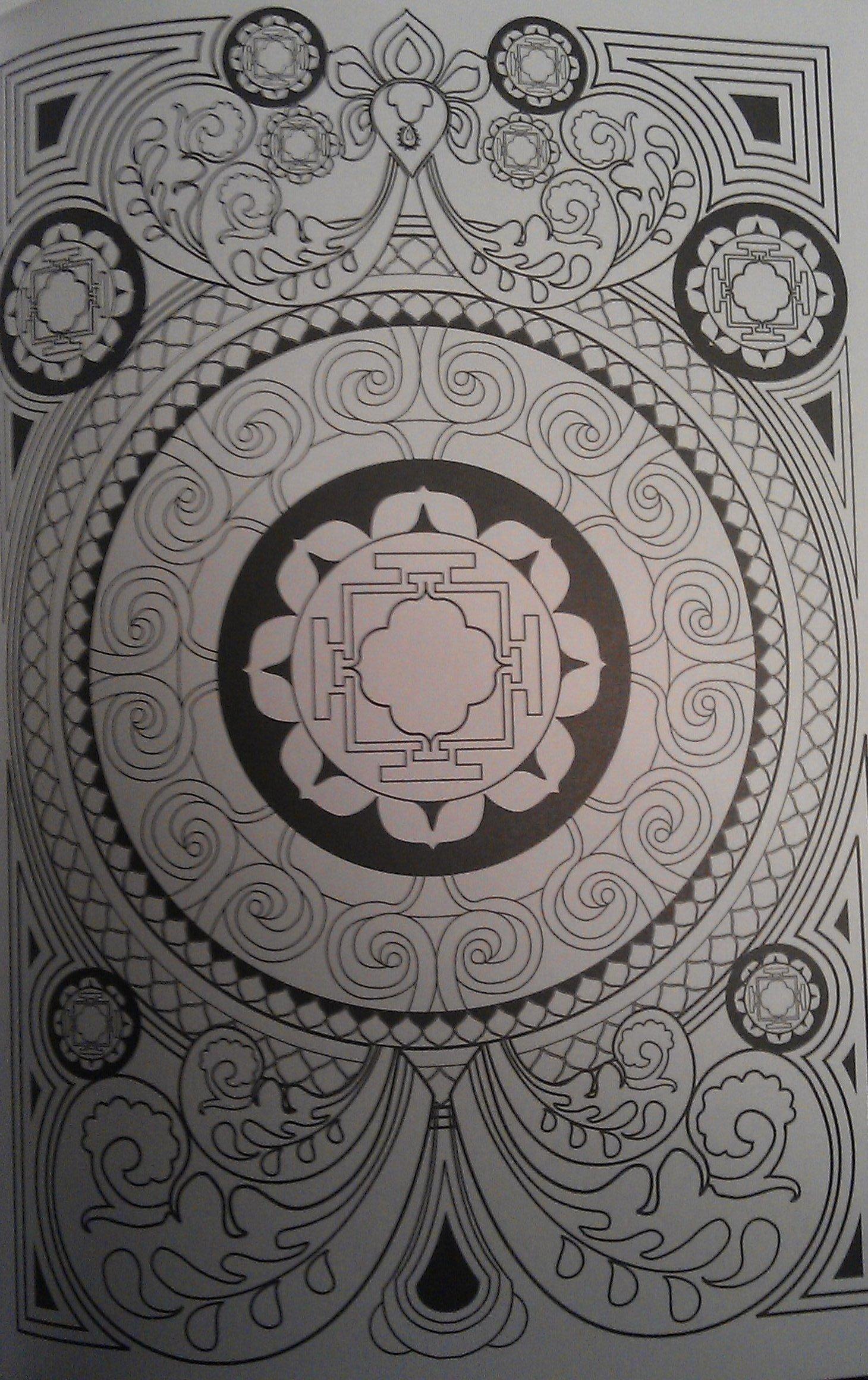 Coloriage Anti Stress Nature Et Decouverte.Decouverte 100 Mandalas Anti Stress Chez Maliluno