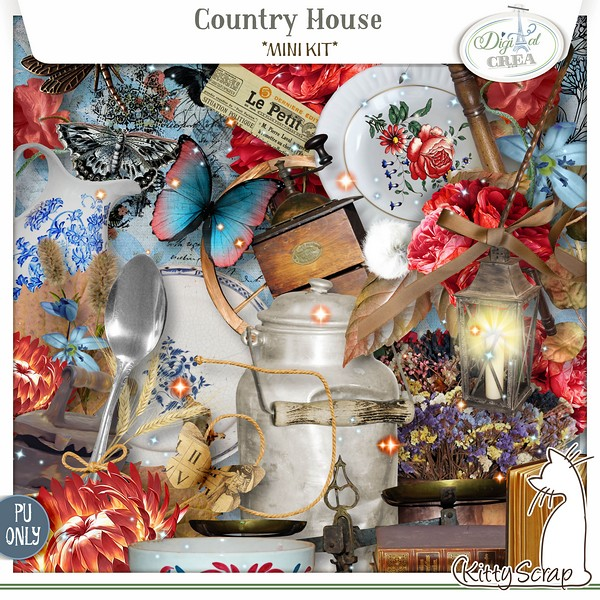 mini kit country house de kittyscrap