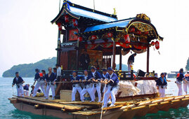 Ine Matsuri (big fish festival), Ine Town, Kyoto